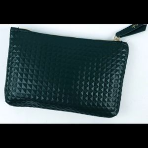 Beautiful black textured Ipsy bag